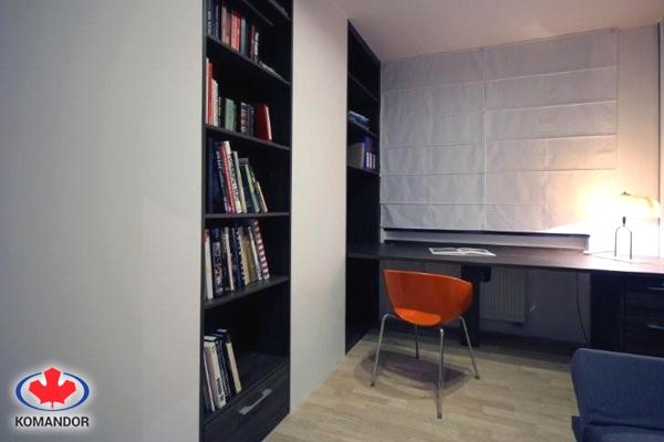 Biblioteczki - meble na wymiar Romax