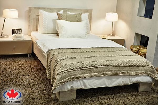 Łóżko - meble na wymiar Romax
